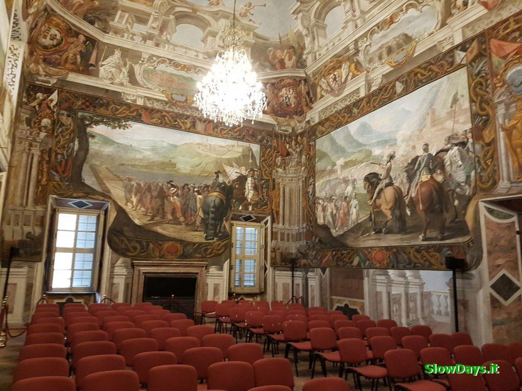 Sala principale di Palazzo Taffini