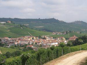 La vista dalla cantina Gomba Boschetti