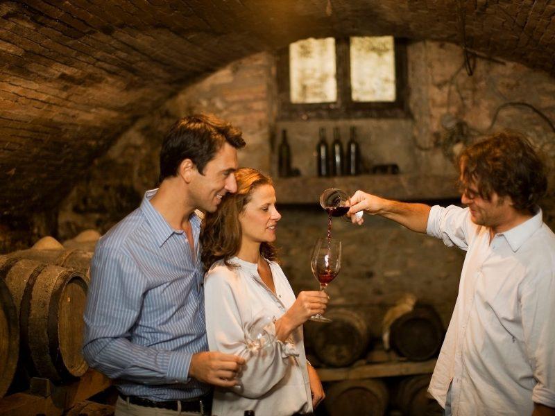 Wine tasting langhe