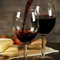 Un bicchiere di buon vino