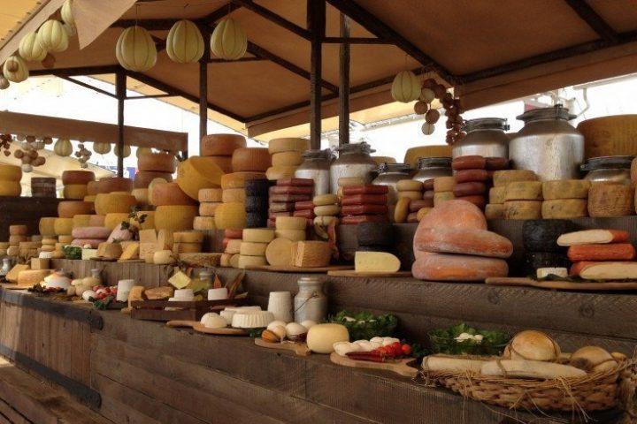 Di formaggi piemontesi e di Cheese a Bra
