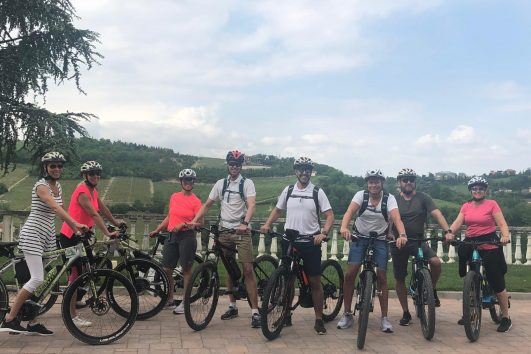 In E-bike tra le colline