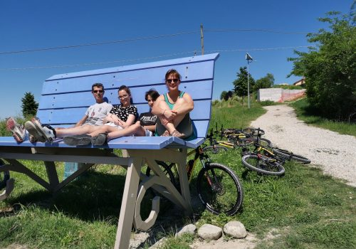 E-bike day with my family