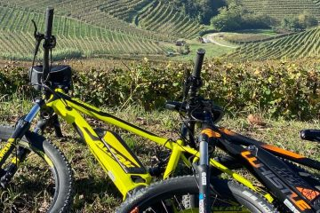 ebike in the Langhe