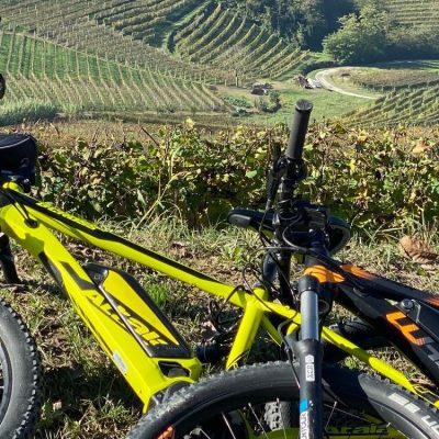 E-bike in Langhe