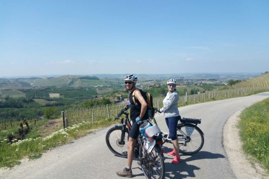 vacanze in bicicletta nelle langhe