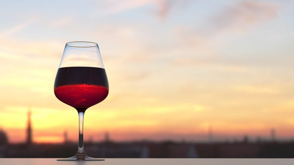 red-wine-sunset