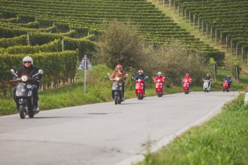 stag do Vespa in langhe