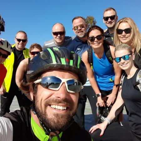 E-bike in gruppo