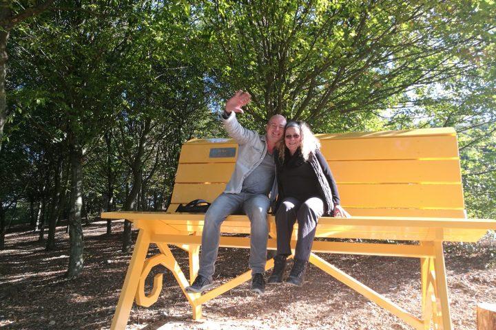 yellow-big-bench
