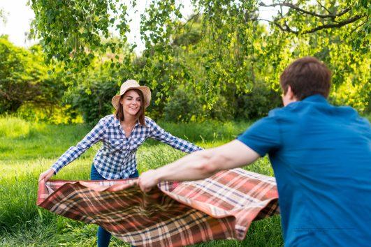 picnic romantico nelle langhe