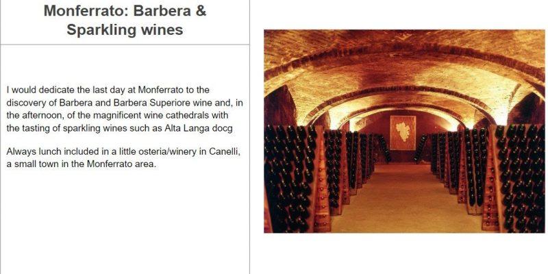 Monferrato and Barbera Tour