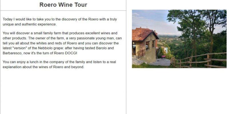 Roero Wine Tour