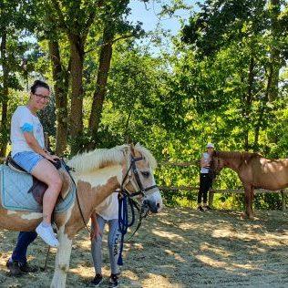 passeggiata a cavallo piemonte