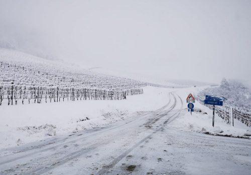 langhe sotto la neve