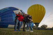 volo in mongolfiera per l'addio al nubilato