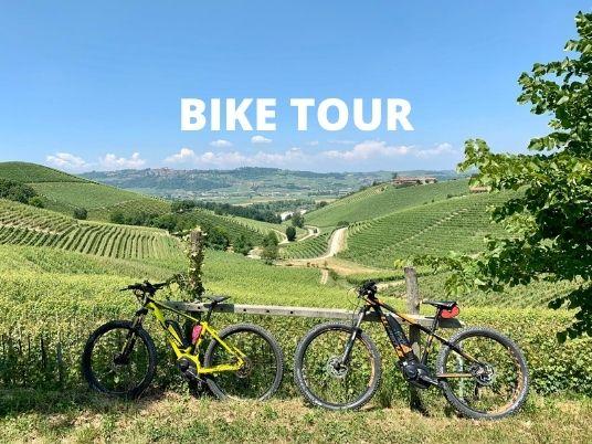 Bike tour in Langhe region