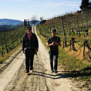 A spasso per vigne e sentieri